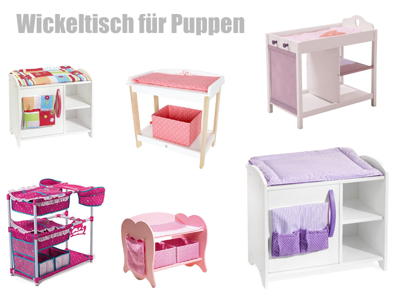 wickeltisch f r puppen als puppenkommode. Black Bedroom Furniture Sets. Home Design Ideas