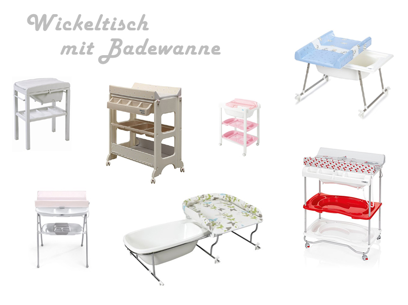 wickeltisch mit badewanne kaufen. Black Bedroom Furniture Sets. Home Design Ideas