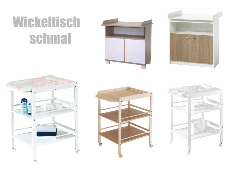 wickeltisch schmal wickelregal f r babys. Black Bedroom Furniture Sets. Home Design Ideas